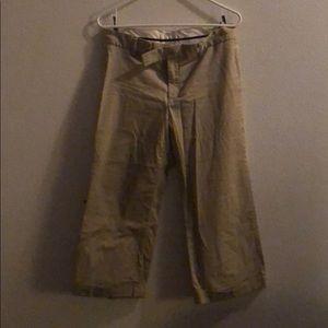 Skin color pants